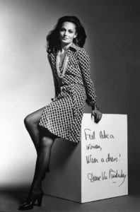 DVF Ad Campaign, 1972 By Roger Prigent